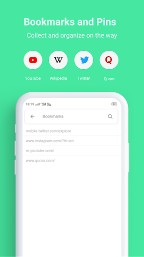 Turbo Browser - Super Fast and Secure Browser 2.4 screenshots 5