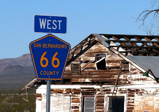 Photo: We met Sunday morning in Essex, CA, along historic route 66, which in San Bernardino county is signed as a county road.