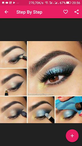 Eyes makeup steps for girls 2.1.2 screenshots 2