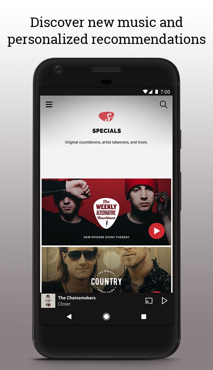 Slacker Radio screenshot #3