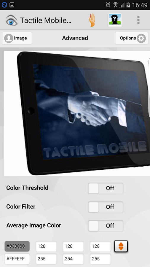 Tactile Mobile Free- screenshot