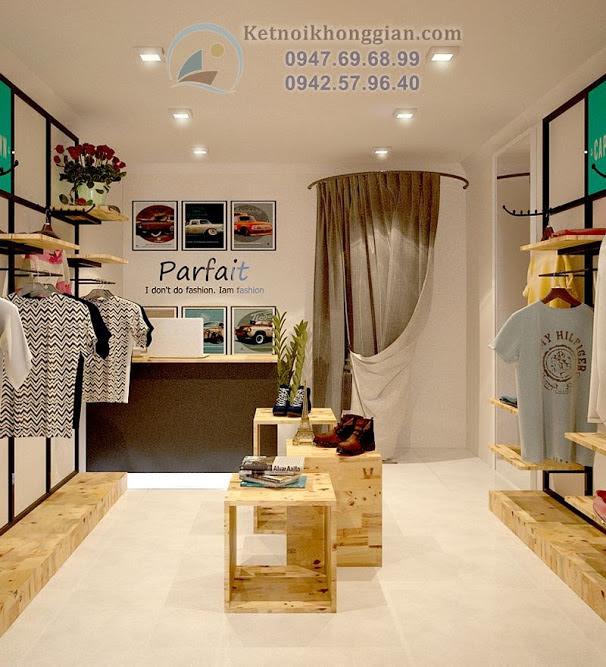 thiết kế shop thời trang đẹp tại núi trúc