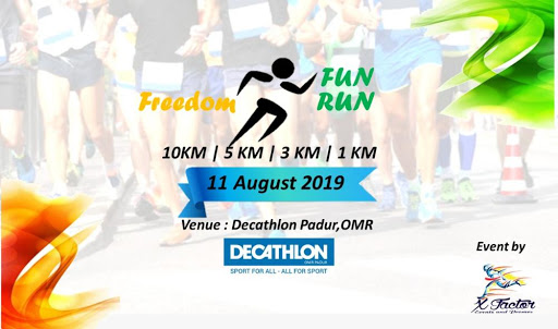 Running Events in Chennai - Upcoming 5K, 10K, Half & Full Marathons