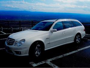 Eクラス ステーションワゴン W211 W211 E350のカスタム事例画像 福さん55さんの2021年02月20日09:08の投稿