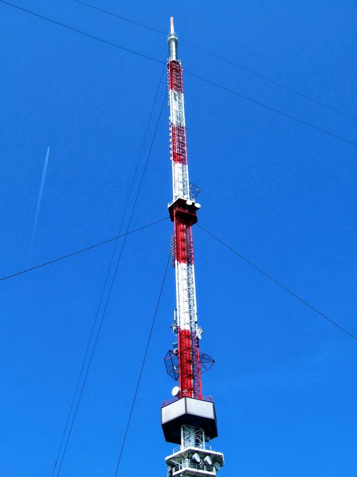 Kab-hegy - TV-URH gerincadó állomás