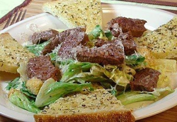 Beef Steak Caesar Salad Recipe