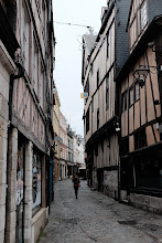 Photo: 500-year-old houses tendick get a bit wobbly