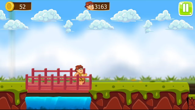 Bheem run - screenshot