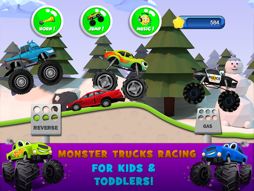 Monster Trucks Game for Kids 2 apkslow screenshots 12