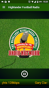Highlander Football Radio- screenshot thumbnail