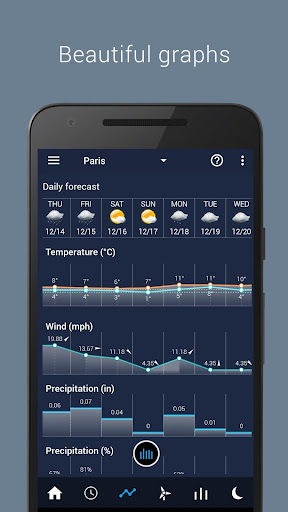 Transparent clock & weather  screenshots 5