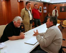 Photo: Tullio FRAGIACOMO e Renzo BELLOGI a confronto