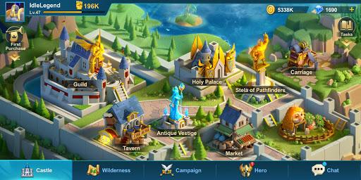 Idle Legend- 3D Auto Battle RPG apkmr screenshots 2