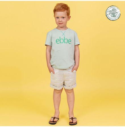 Giorgio- Striped chinos shorts for children