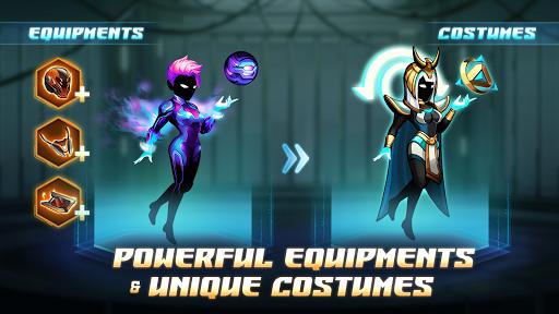Cyber Fighters: Cyberpunk Stickman Impact Fighting screenshots 2