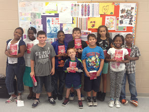Photo: Boy & Girls Club  receives Rotary dictionaries from Blaine Timmer - October 2013