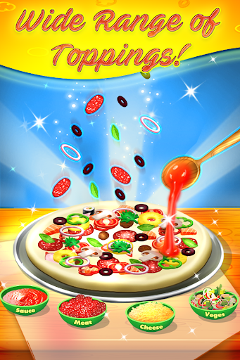 Télécharger Supreme Pizza Maker - Kids Cooking Game APK MOD (Astuce) screenshots 1