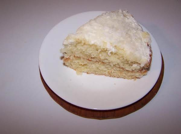 Gail Welch's Version Of Buttermilk Coconut Cake.