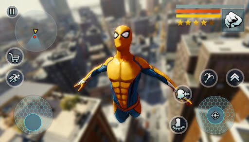 Spider Rope Gangster Hero Vegas - Rope Hero Game apkmr screenshots 11