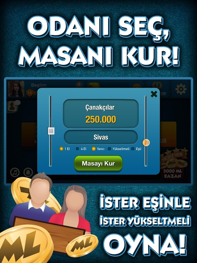 101 YüzBir Okey Çanak- screenshot