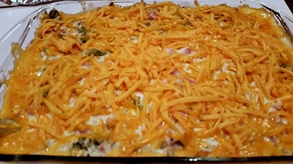 Remove foil and bake another 15 minutes. Sprinkle evenly with cheese and bake until...