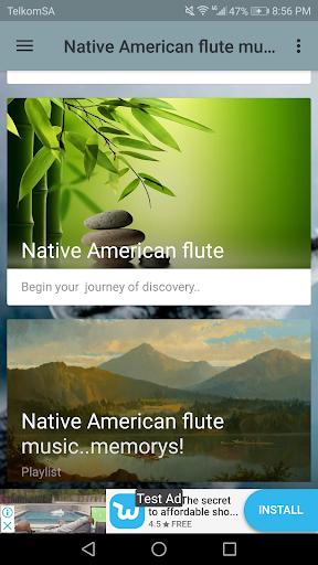 Native American flute music screenshot