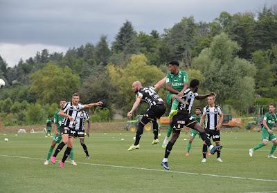 Le Sporting de Charleroi a pris l'eau du côté de Saint-Étienne