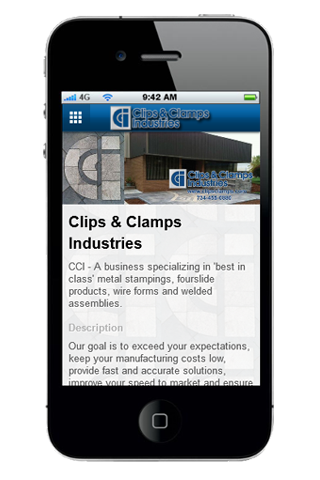Clips & Clamps Industries- screenshot