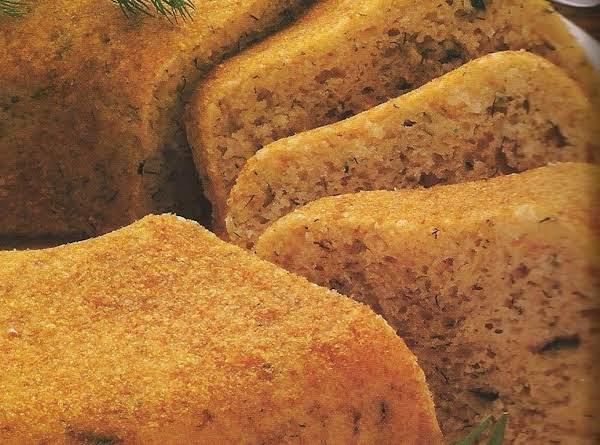 Dill Zucchini Batter Bread Recipe