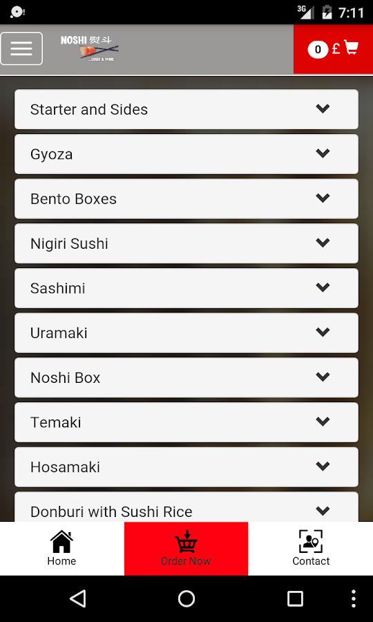 Noshi Sushi- screenshot