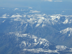 Photo: View from the plane