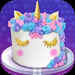 Unicorn Food - Cake Bakery Icon