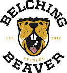 Logo of Belching Beaver Race Track Red