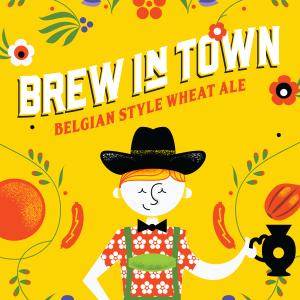 Logo of NoCoast Brew in Town Belgian Wheat