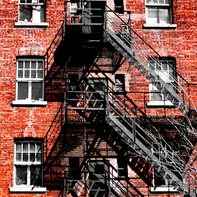 ... by Daniel Gaudin - Buildings & Architecture Architectural Detail ( detail, building, exterior, staircase, architecture,  )