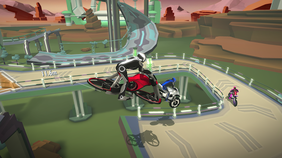 Gravity Rider Zero Screenshot