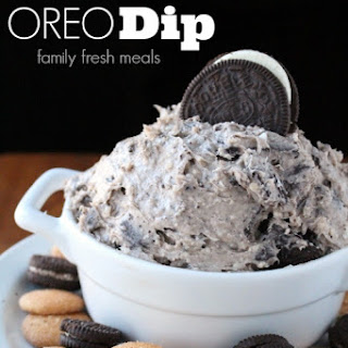 Creamy Oreo Dip Dessert