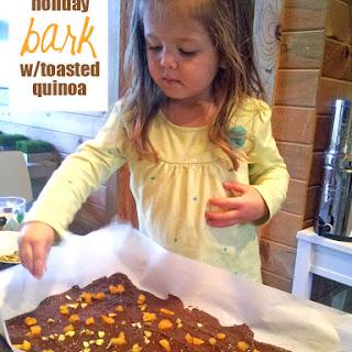 Holiday Bark w/Toasted Quinoa