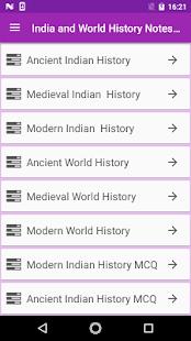 India World History Notes MCQ - náhled