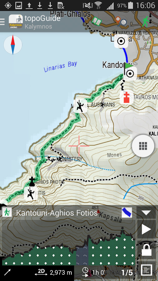 Kalymnos Hiking- screenshot