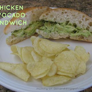 Chicken Avocado Sandwiches!