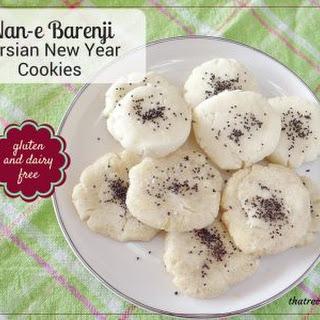 Nan-e Barenji (Persian New Year Cookies).