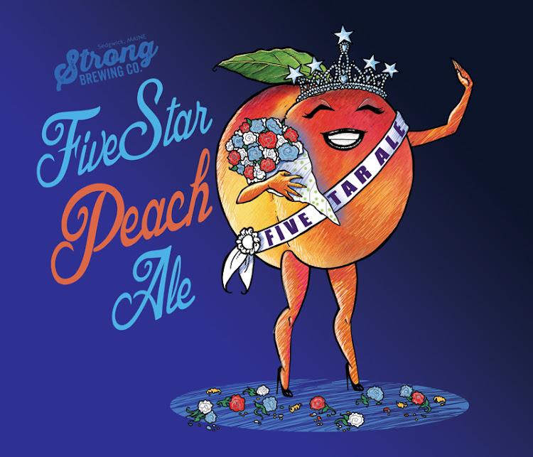 Logo of Strong 5 Star Peach