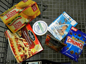 Photo: I think that I am all done with the shopping. I will also be making a wonderful easy dessert. You should check it out: http://cbi.as/d63ee