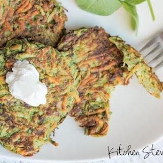 Green Veggie Pancakes