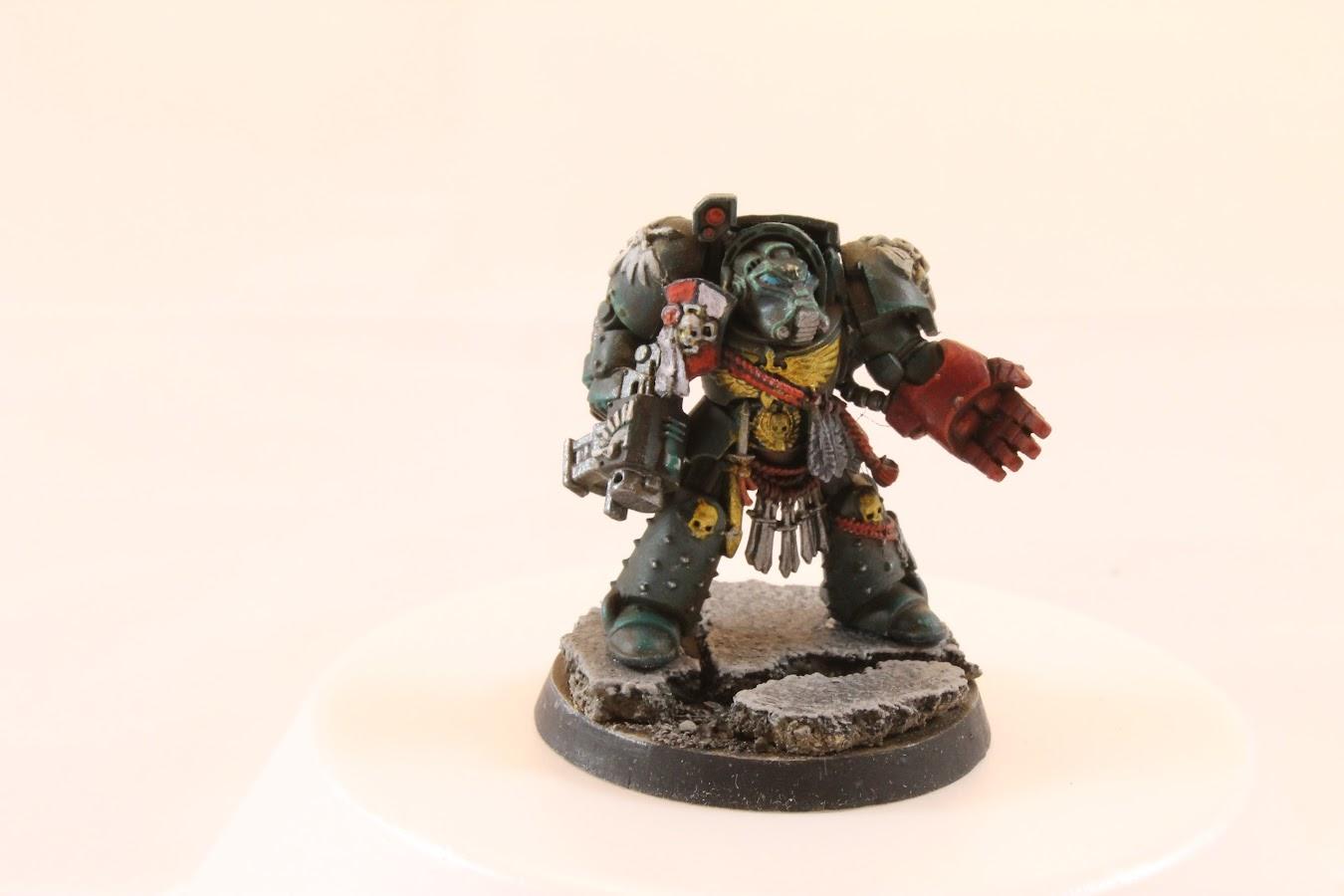Terminator #5, painted