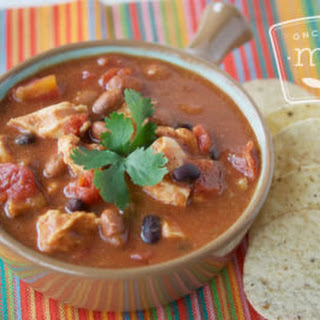Instant Pot Chicken Taco Soup.