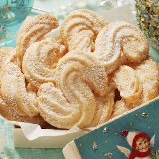 Orange Viennese Cookies Recipe