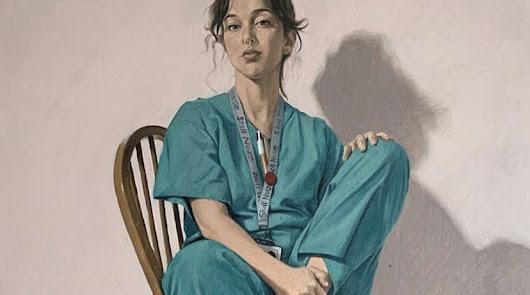 La enfermera almeriense convertida en icono de los sanitarios de Reino Unido