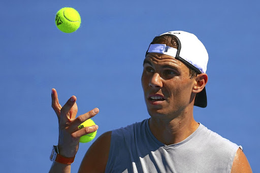On the ball:  Rafael Nadal is returning from injury. Picture: REUTERS
